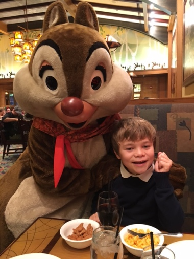Thanksgiving at Disneyland Storytellers Cafe