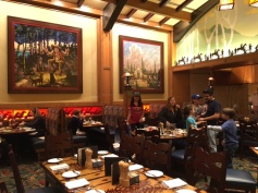 Thanksgiving at Disneyland Storytellers Cafe