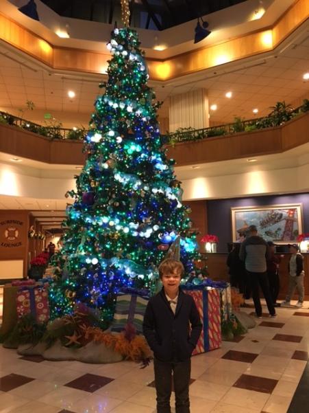 Lobbie at Disney's Paradise Pier Hotel