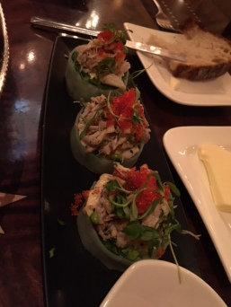 Blue Crab Lettuce Cups