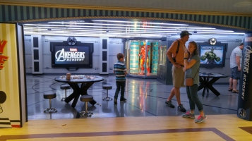 Disney's Marvel Avengers Acaedemy on the Disney Magic