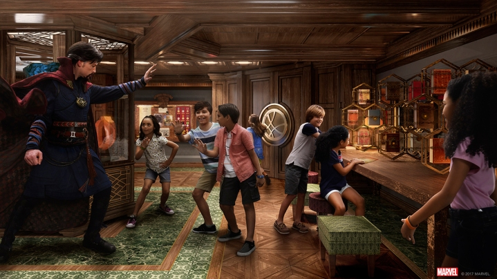 New Marvel Super Hero Academy on the Disney Fantasy