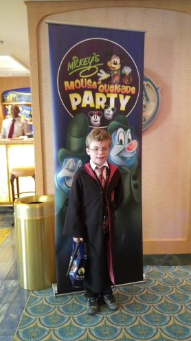 Disney's Mousequerade party on Halloween