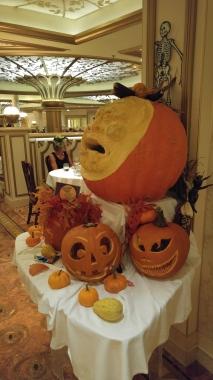 Halloween dinner at Royal Court
