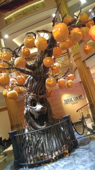 Disney Cruise Halloween tree stage 3