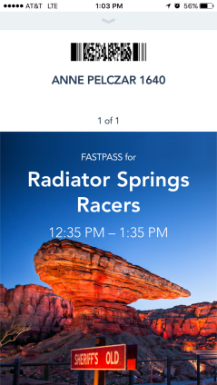 New digital FastPass