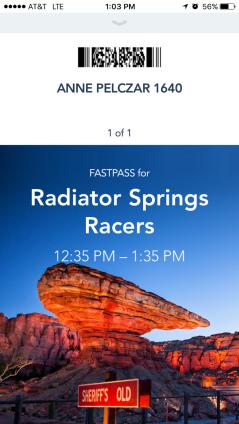 New digital FastPass