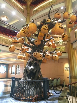 Disney Cruise Halloween tree stage 2