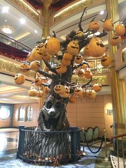 Disney Cruise Halloween tree stage 2